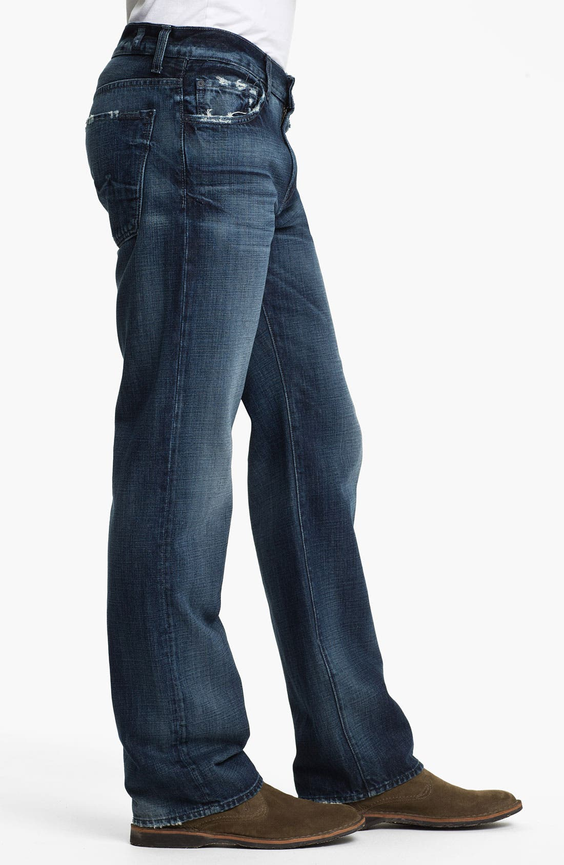 Alternate Image 3  - 7 For All Mankind® 'Austyn' Relaxed Straight Leg Jeans (Kool Nite)