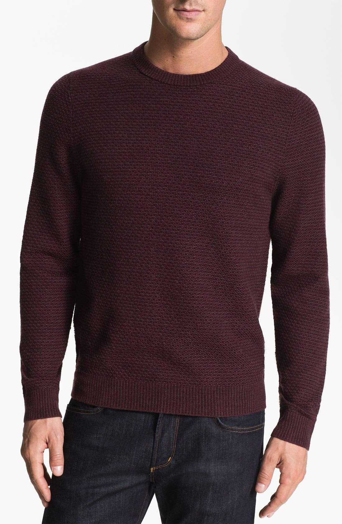 Alternate Image 1 Selected - Nordstrom Merino Wool Crewneck Sweater