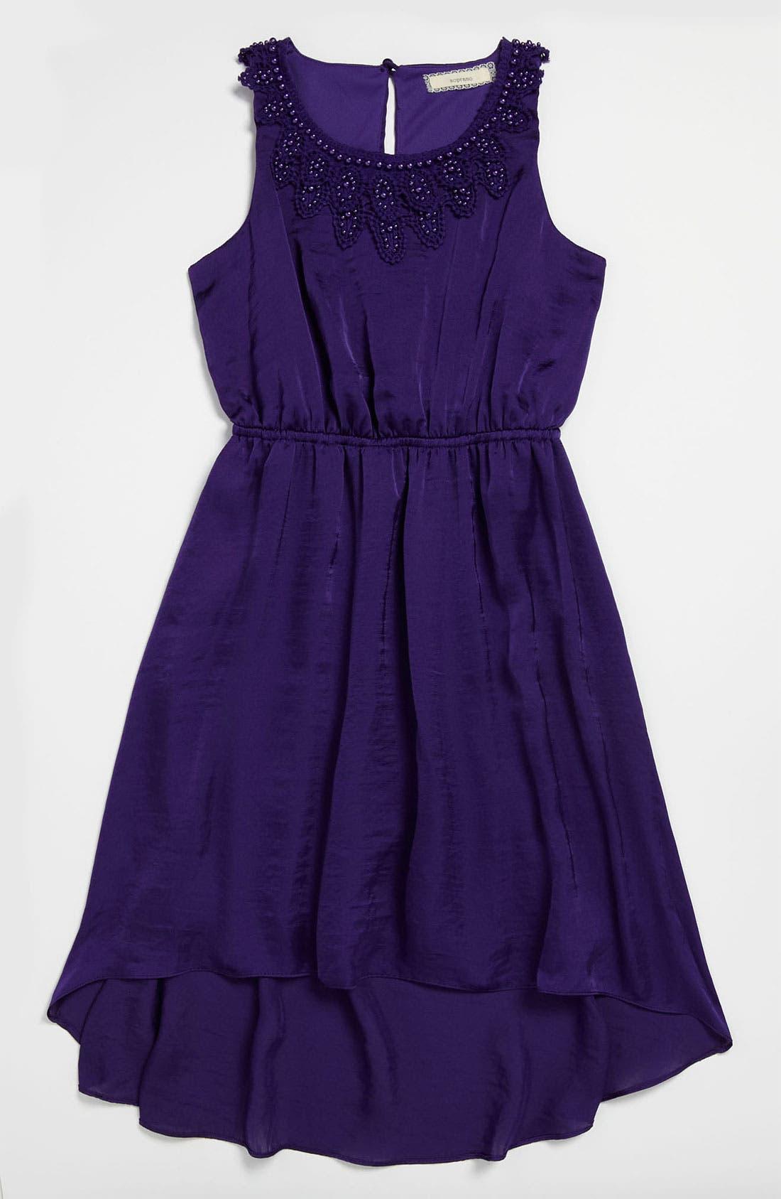 Alternate Image 1 Selected - Soprano Sleeveless Dress (Big Girls)