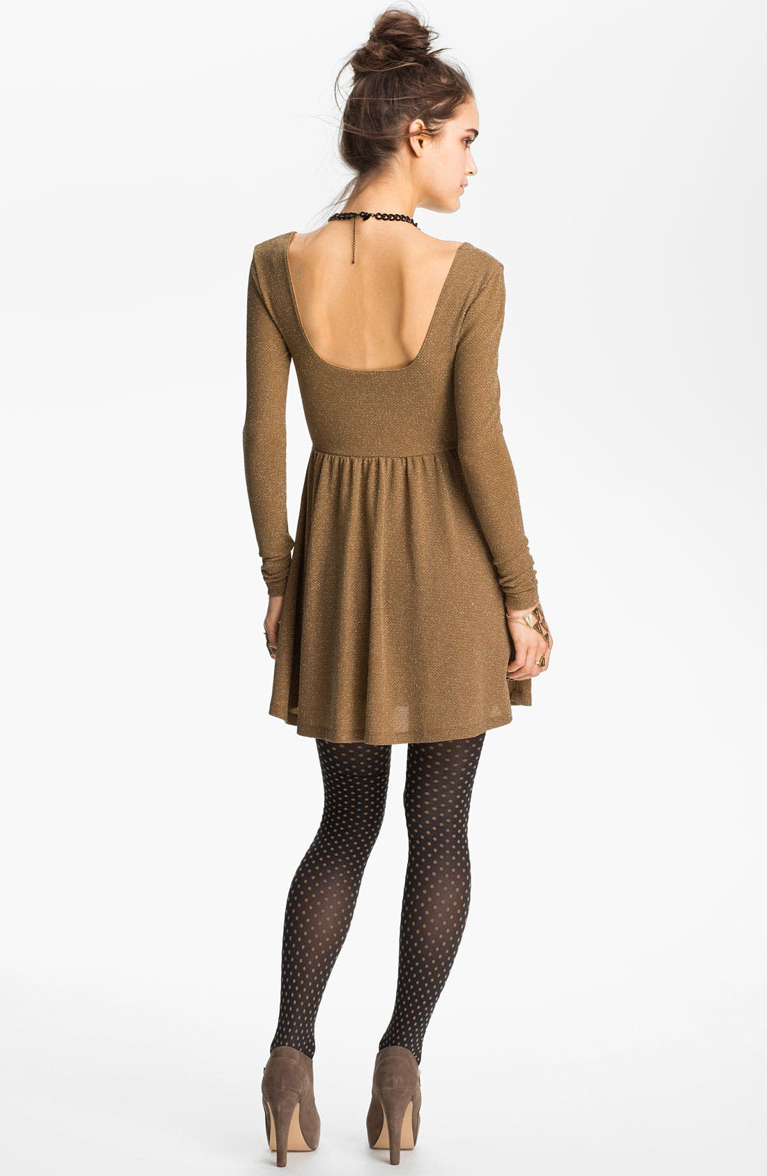 Alternate Image 2  - Free People Shimmer Skater Dress