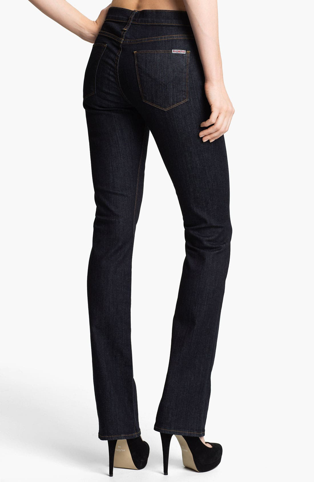 Alternate Image 2  - Hudson Jeans 'Elle' Baby Bootcut Jeans (Foley)