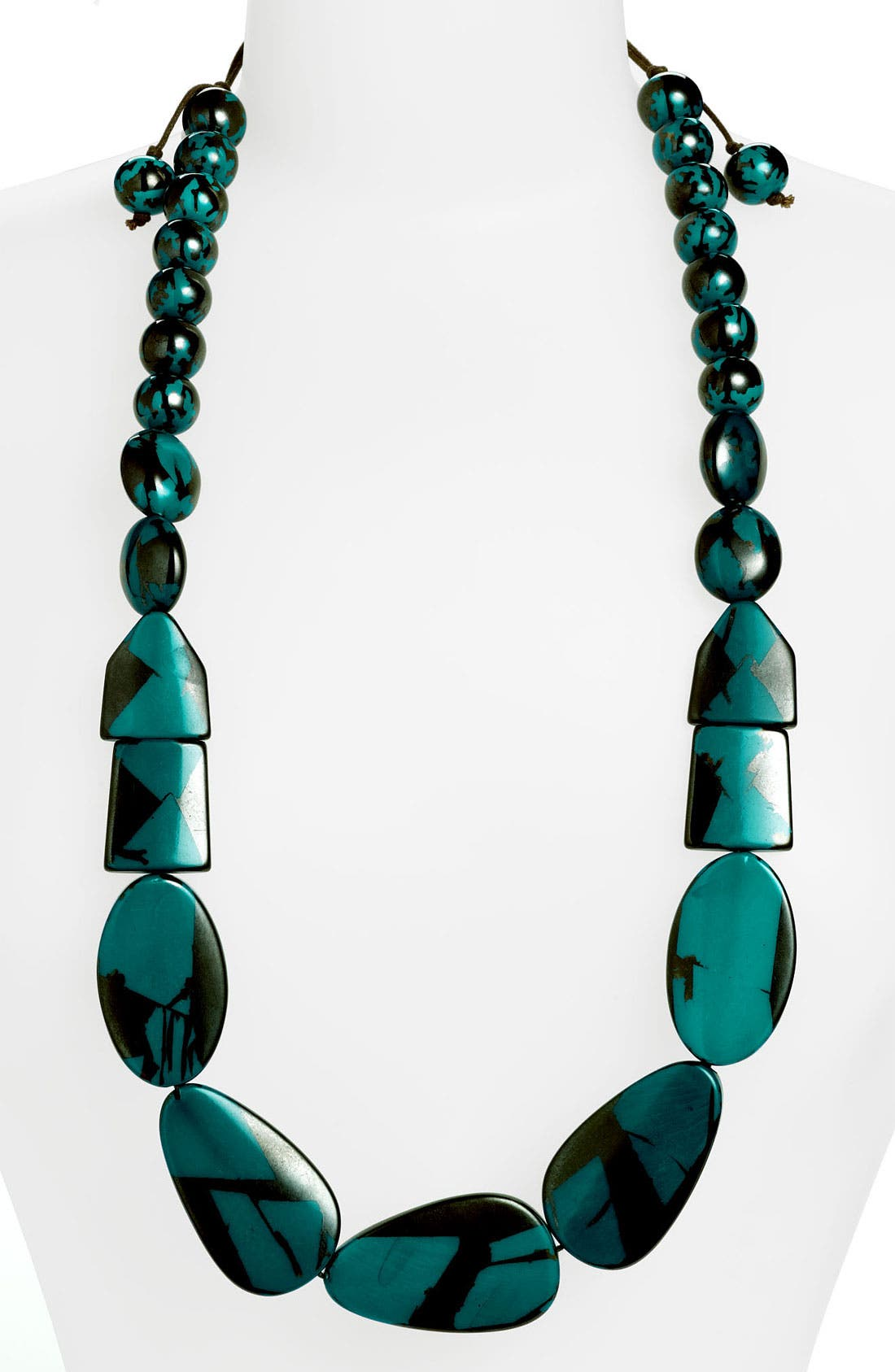 Alternate Image 1 Selected - Spring Street Design Group 'Tort' Resin Necklace