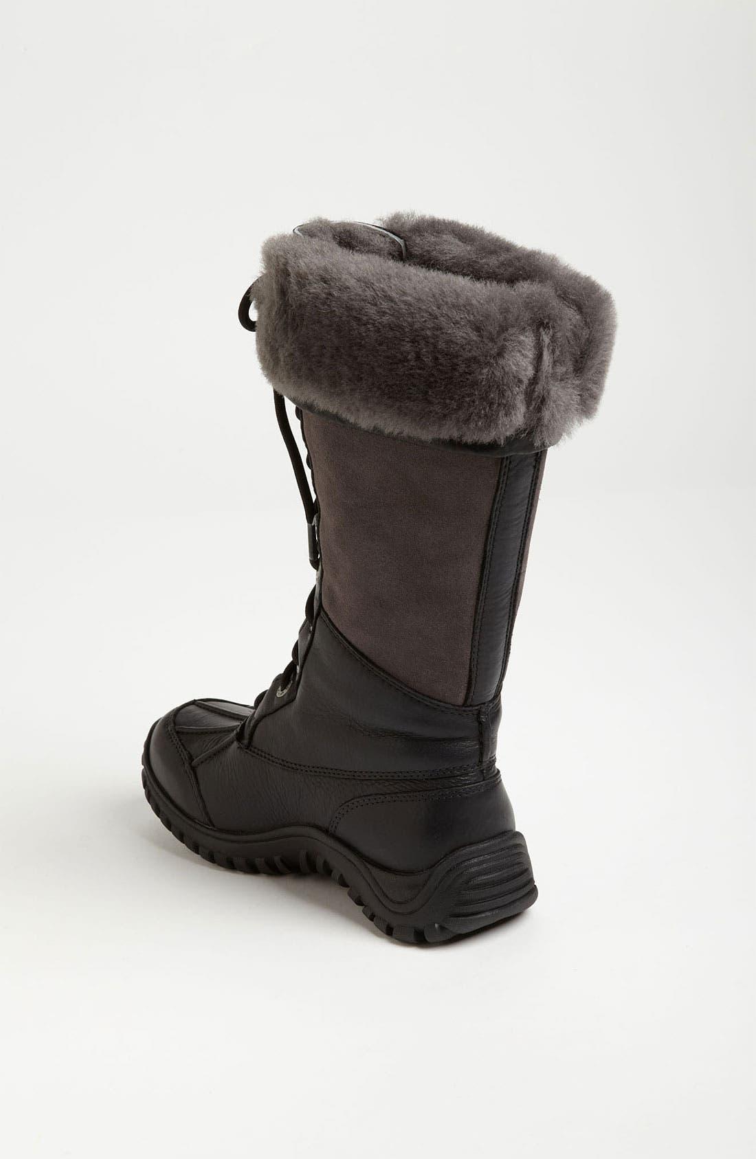 Adirondack Waterproof Tall Boot,                             Alternate thumbnail 3, color,                             New Black