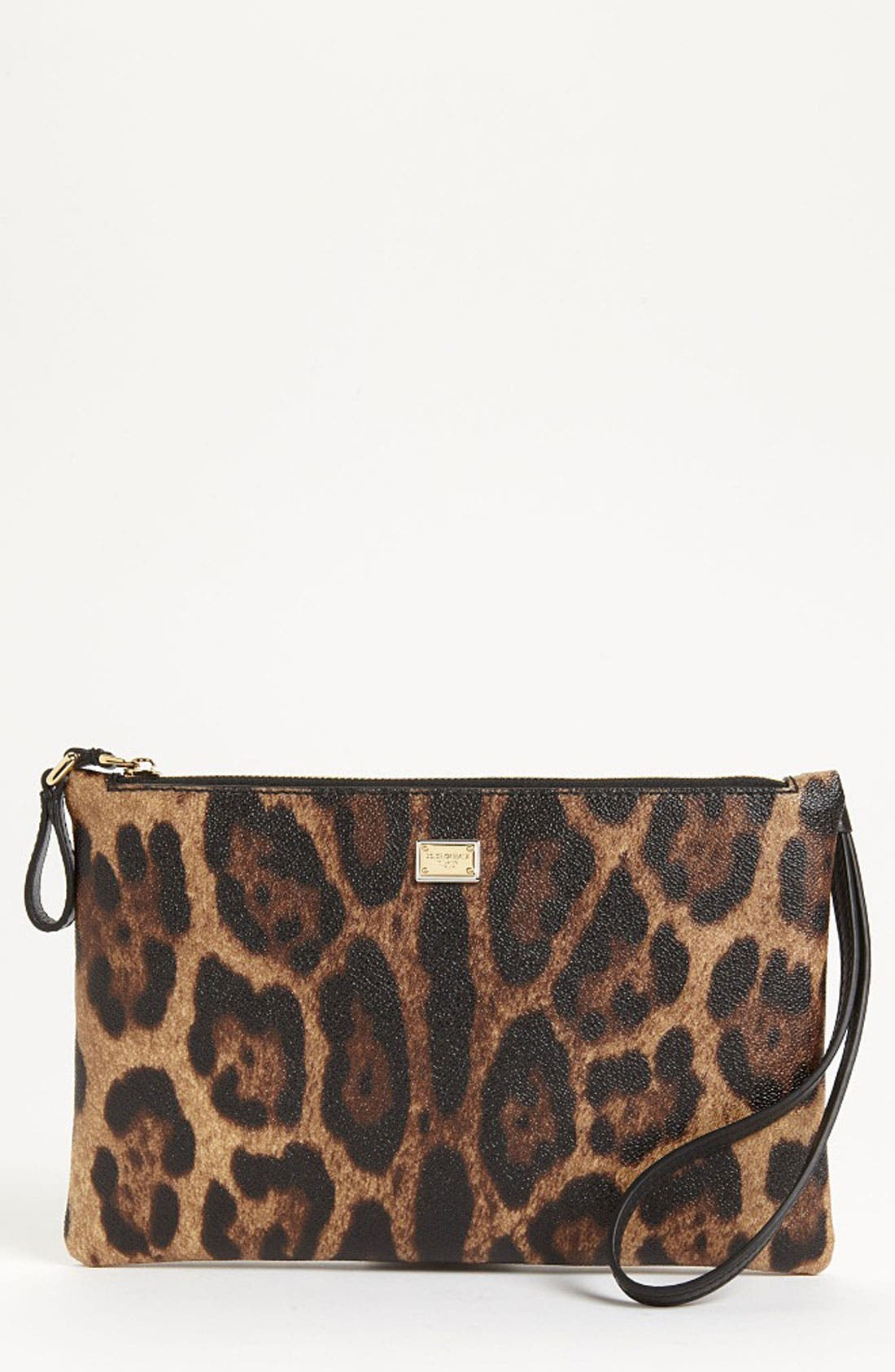 Alternate Image 1 Selected - Dolce&Gabbana 'Miss Cleo' Wristlet