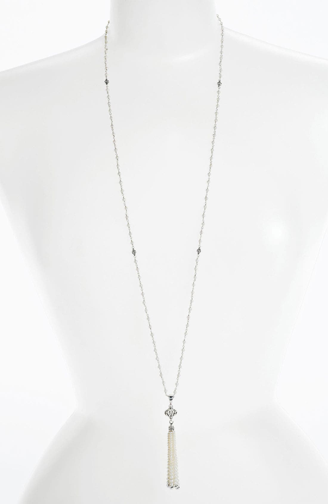 Alternate Image 2  - LAGOS 'Luna' Pearl Tassel Necklace