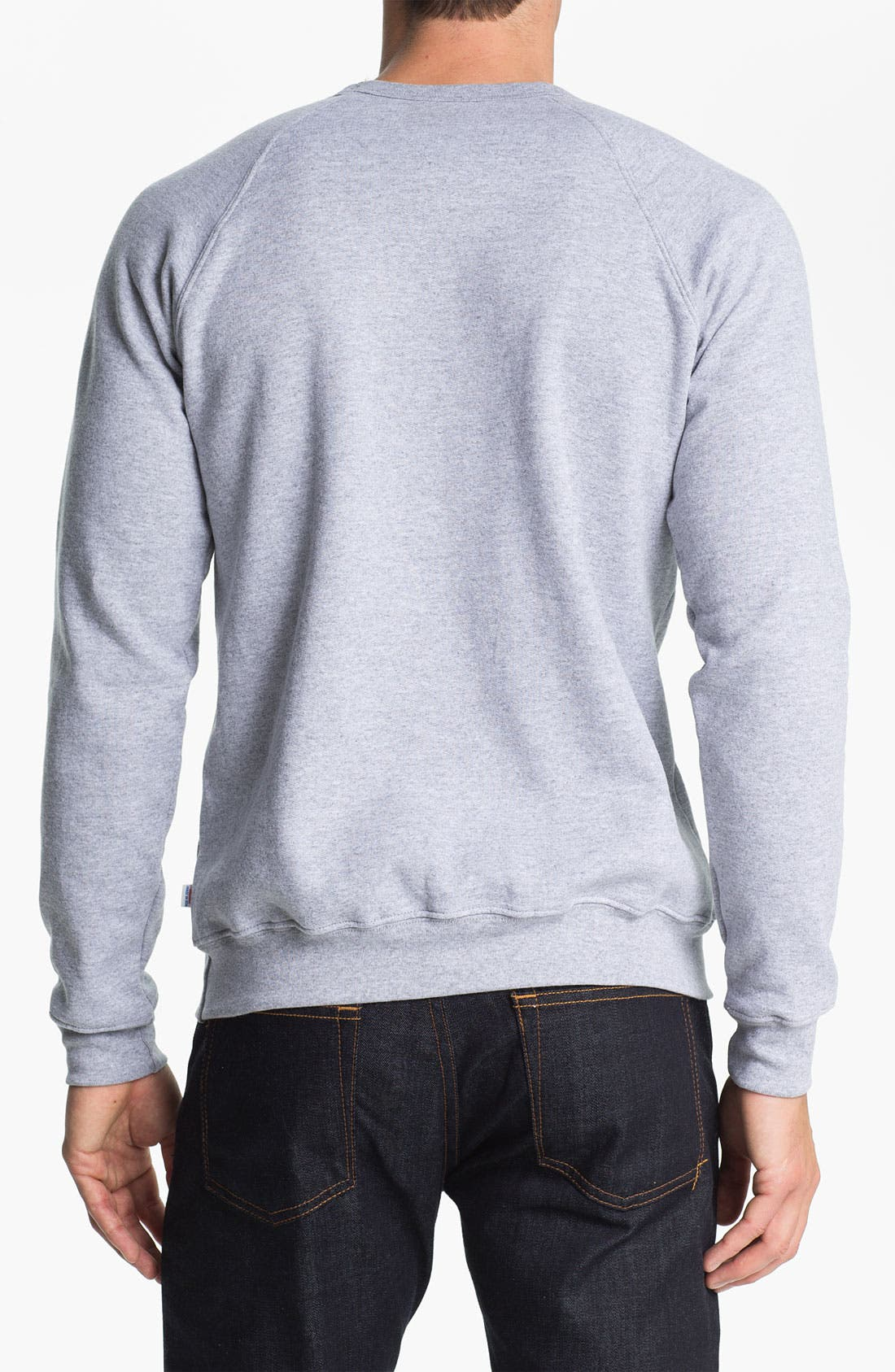 Alternate Image 2  - Obey 'All City Champs' Graphic Crewneck Sweatshirt