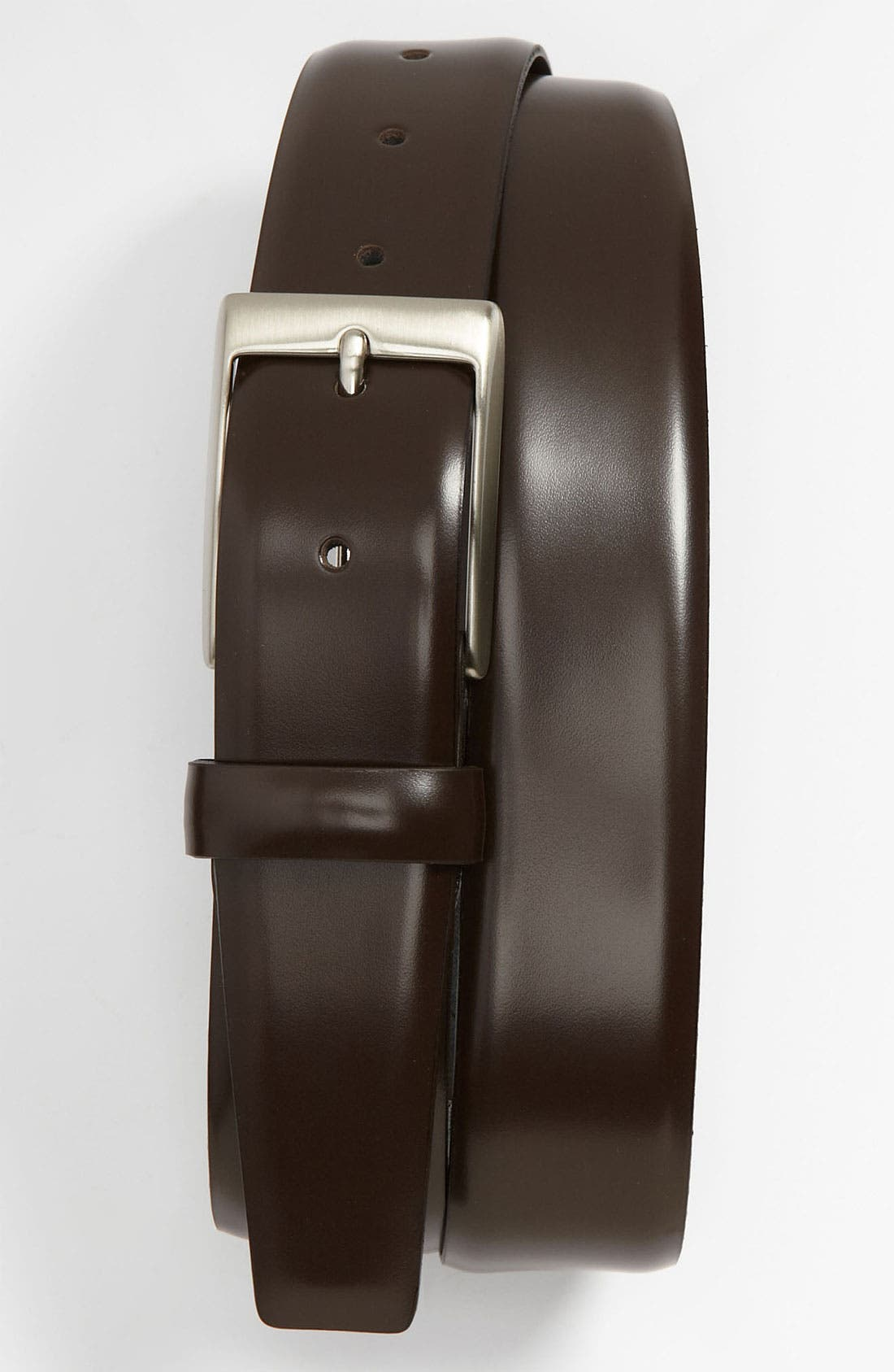 Alternate Image 1 Selected - Canali 'Cordovan' Leather Belt