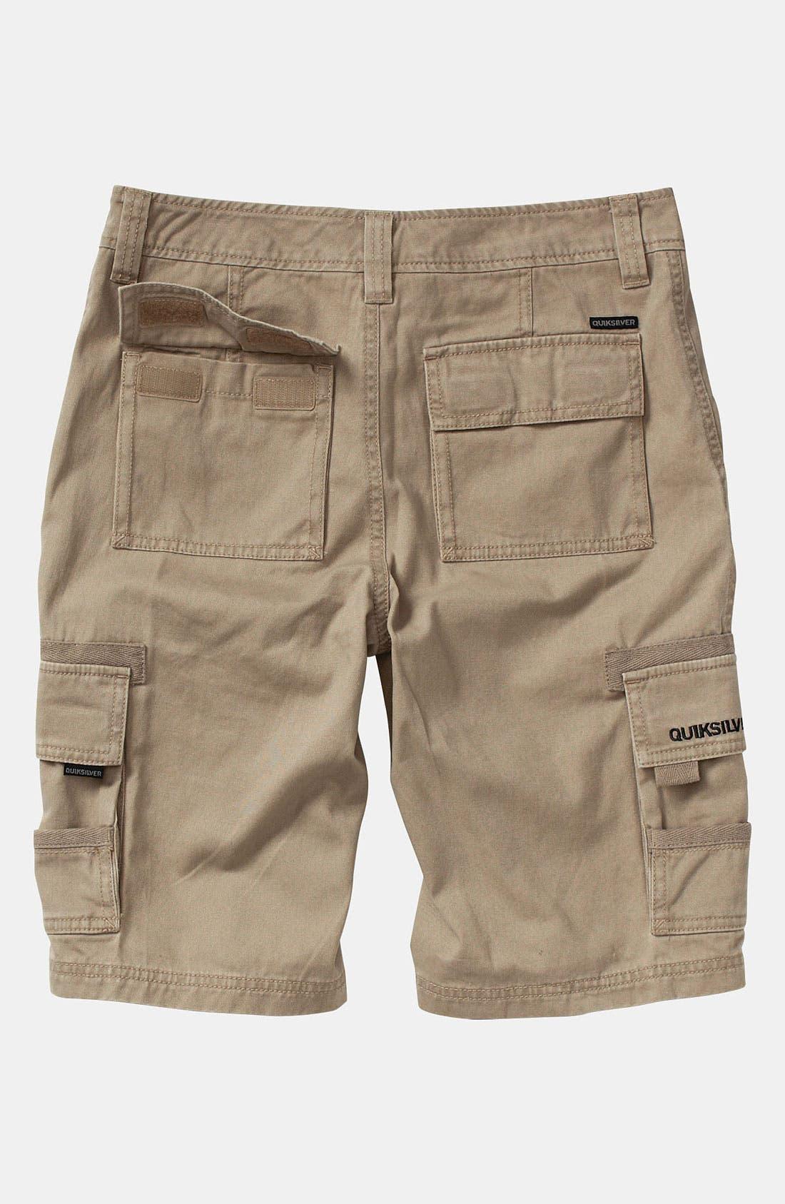 Alternate Image 3  - Quiksilver 'Escargot' Cargo Shorts (Big Boys)