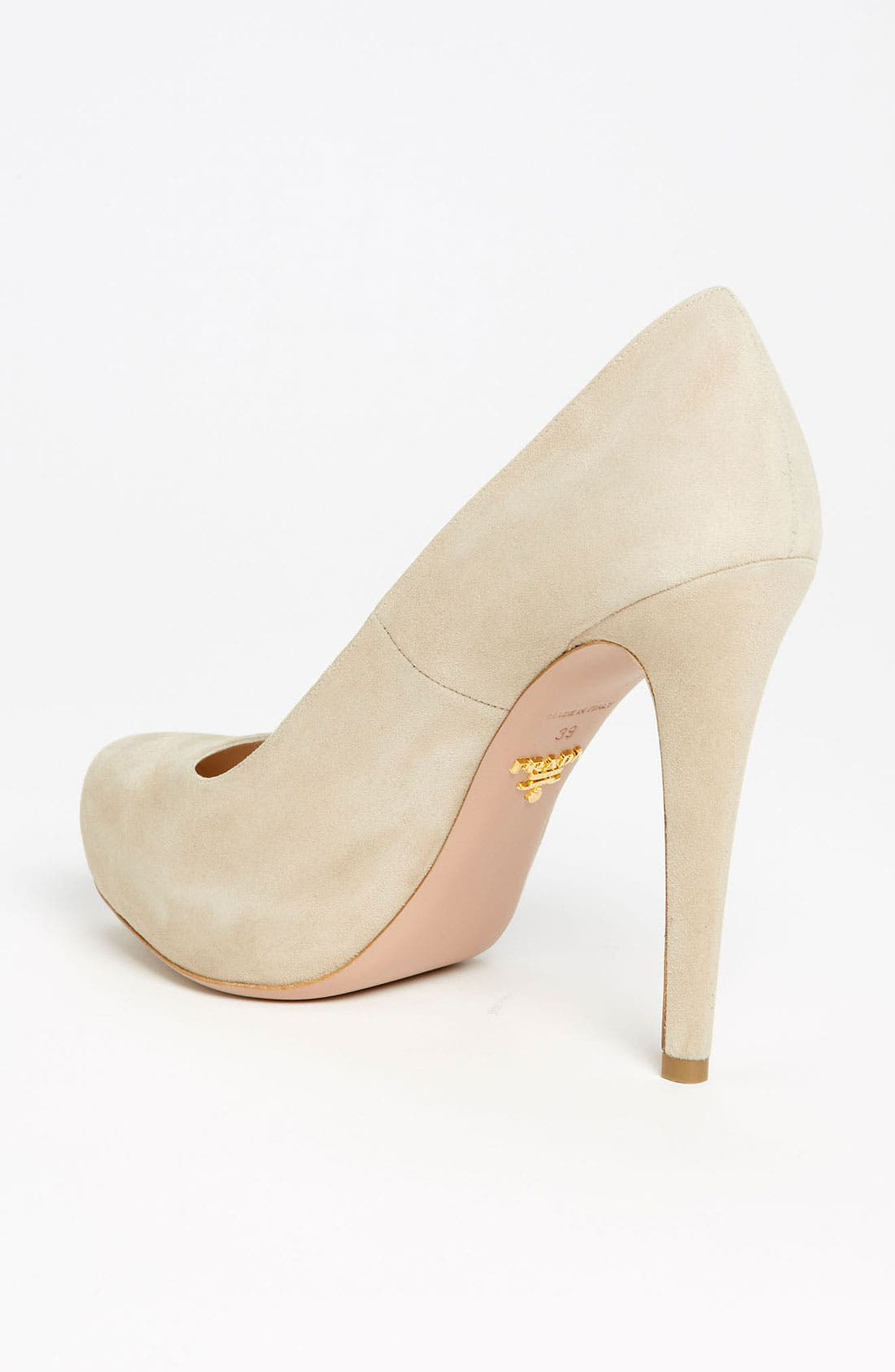 Alternate Image 2  - Prada Round Toe Platform Pump