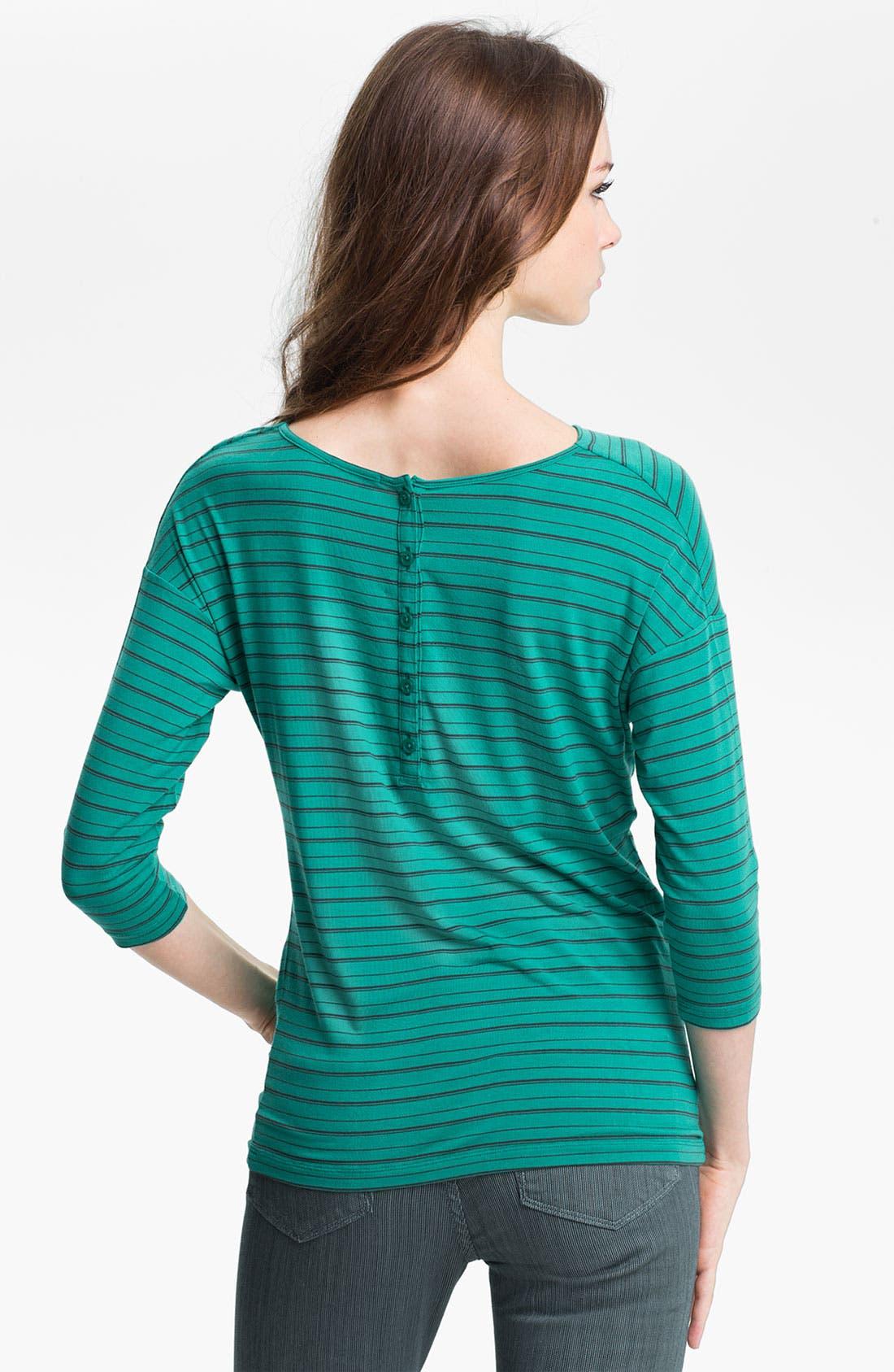 Alternate Image 2  - Halogen® Stripe Wedge Top