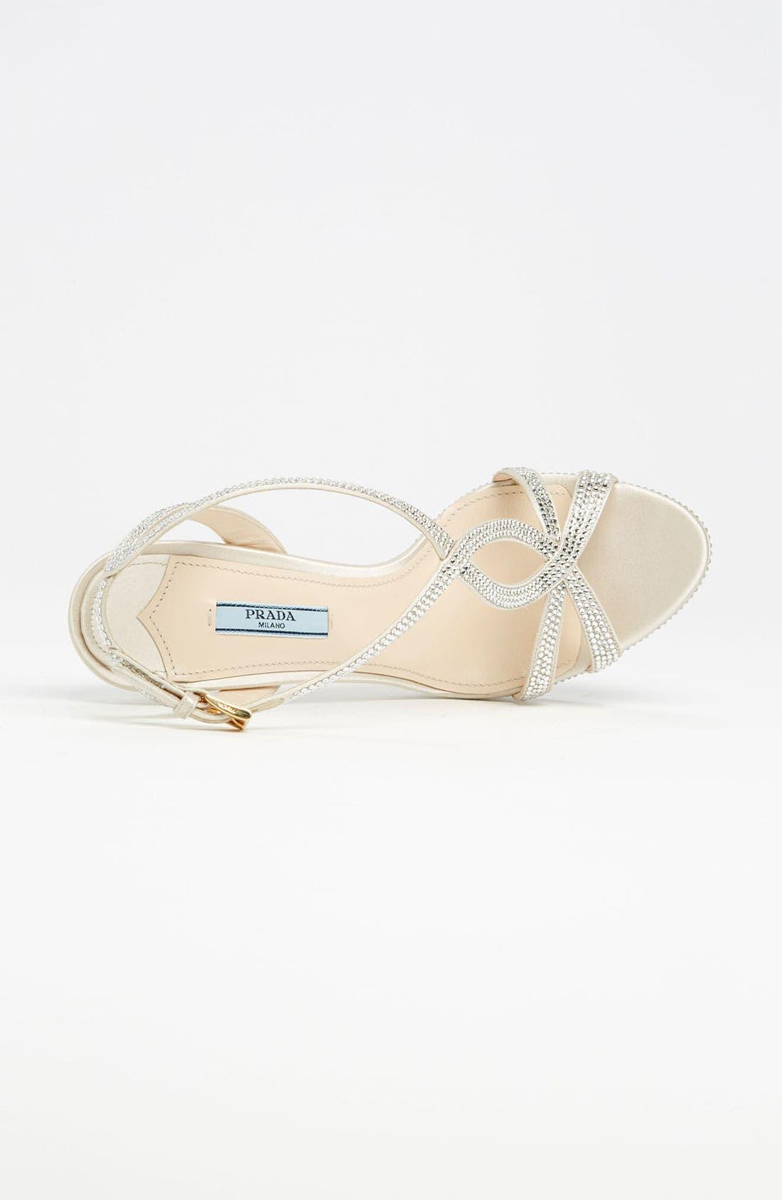 Alternate Image 3  - Prada Crystal Platform Sandal