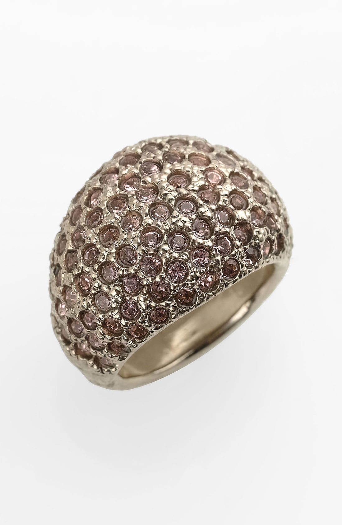 Alternate Image 1 Selected - St. John Collection Antique Flash Gold & Crystal Ring