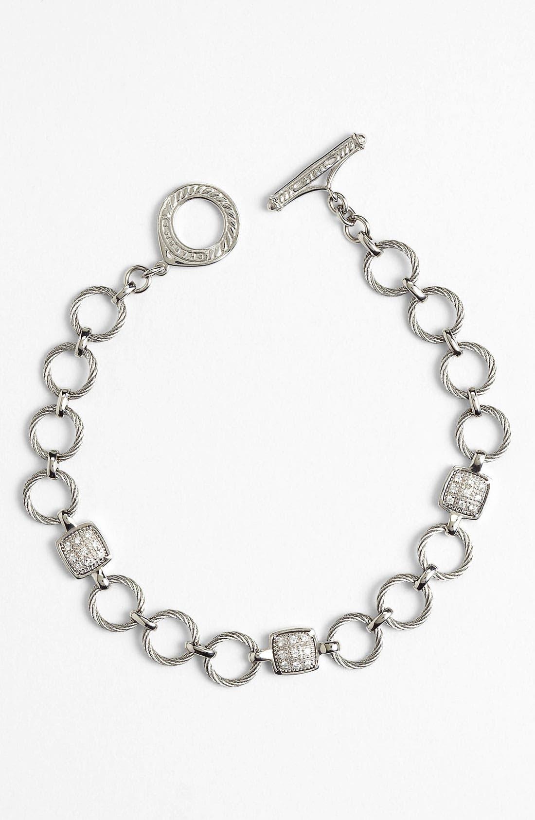Alternate Image 1 Selected - ALOR® Cable Ring Line Bracelet