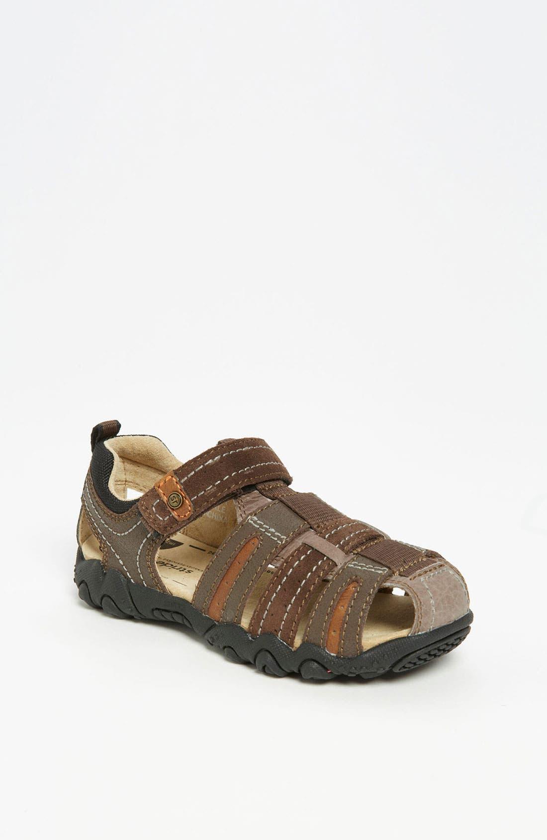 Alternate Image 1 Selected - Stride Rite 'Ericson' Sandal (Toddler & Little Kid)