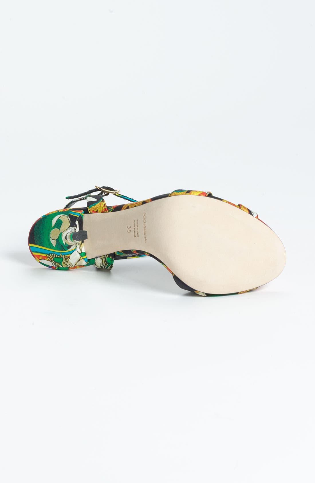 Alternate Image 4  - Dolce&Gabbana T-Strap Sandal