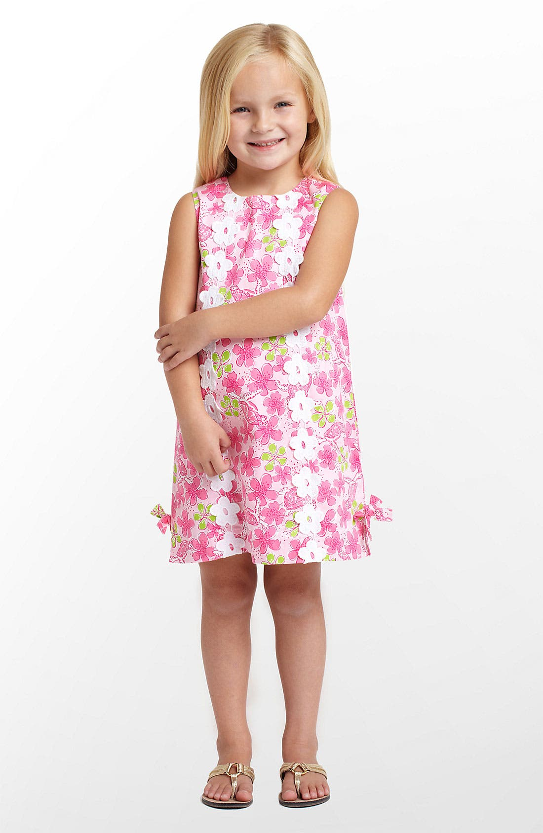 Main Image - Lilly Pulitzer® 'Little Lilly' Shift Dress (Little Girls & Big Girls)
