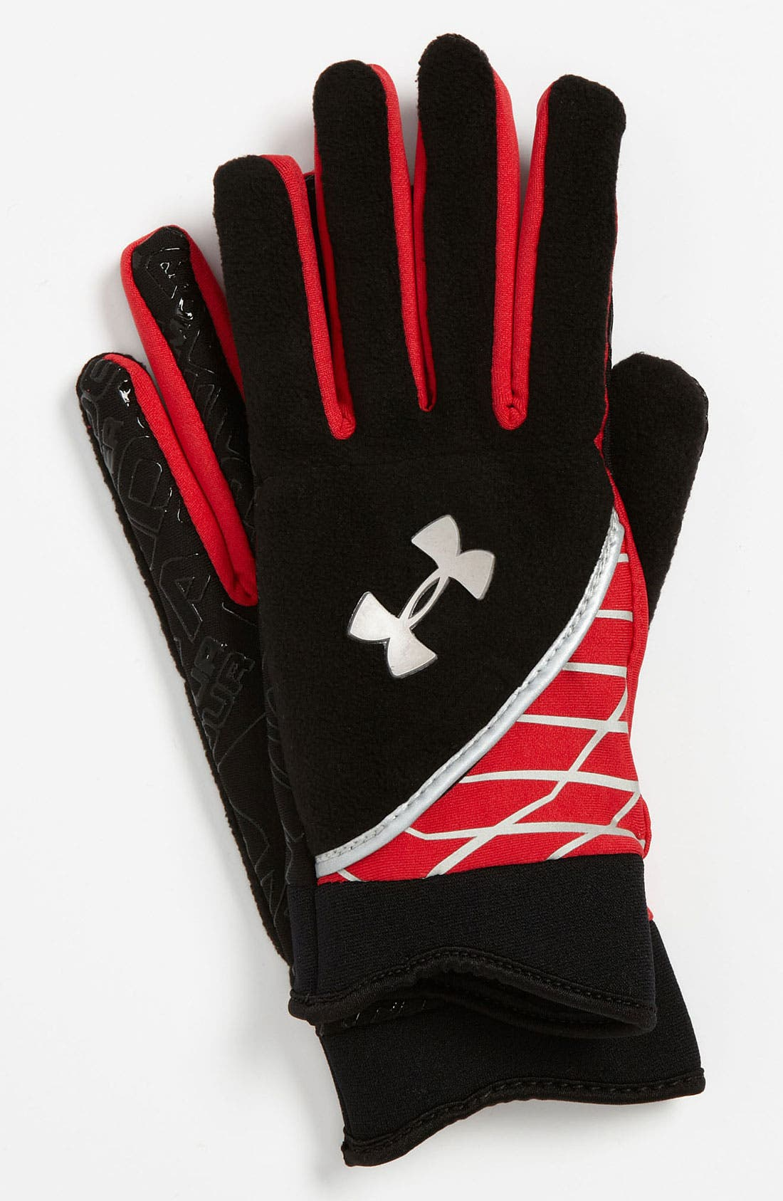 Main Image - Under Armour Fleece Gloves (Big Boys)