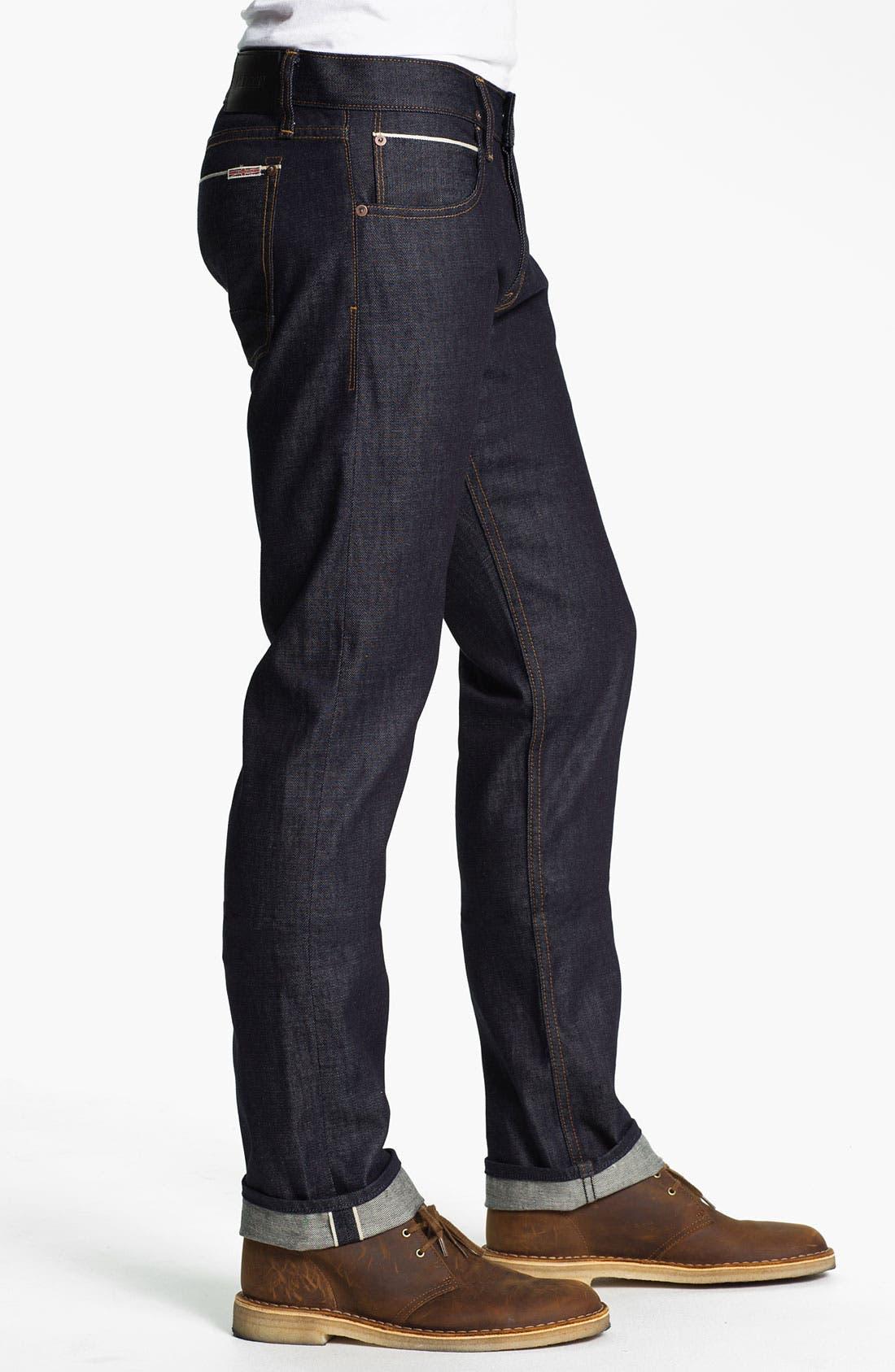 Alternate Image 3  - Hudson Jeans 'Byron' Straight Leg Jeans (Turbotech Selvage)