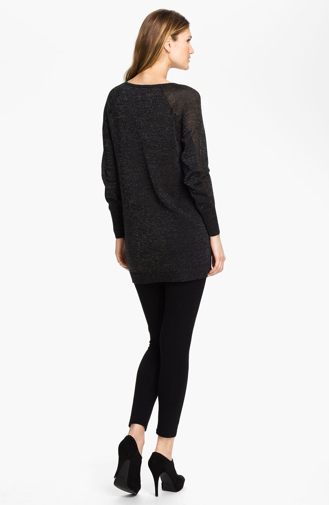 Alternate Image 5  - Eileen Fisher Jewel Neck Tunic (Online Exclusive)