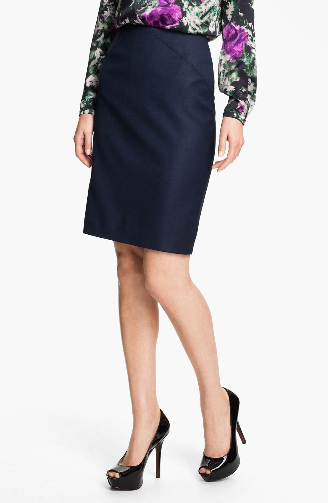 Alternate Image 1 Selected - BOSS HUGO BOSS 'Vilinata' Skirt