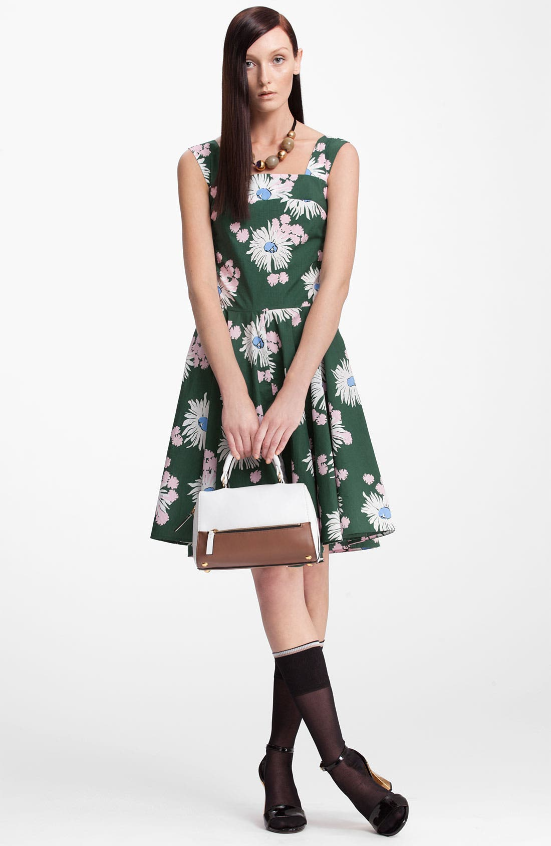 Alternate Image 3  - Marni Floral Print Dress