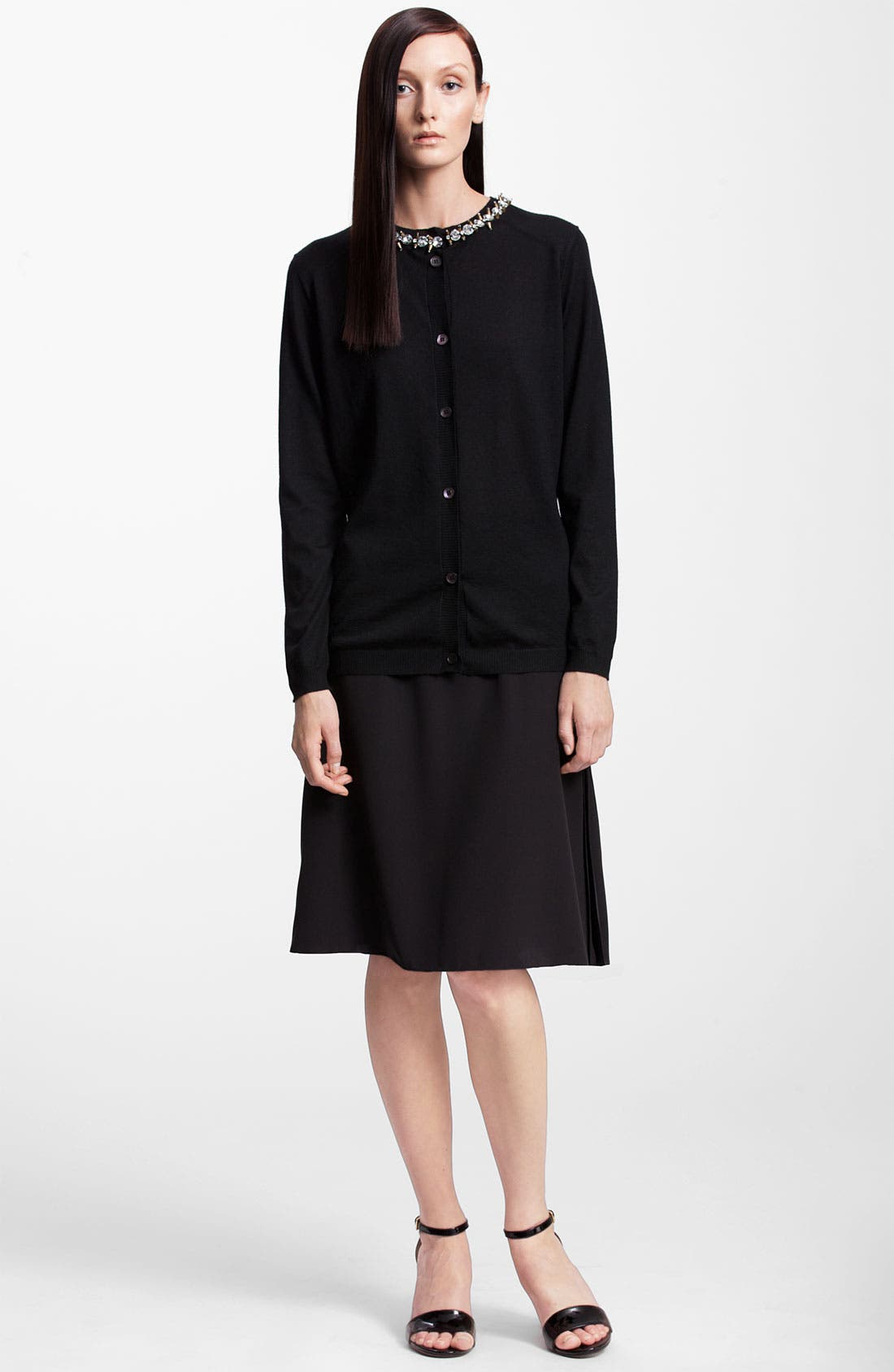 Alternate Image 4  - Marni Jewel Collar Cashmere Cardigan