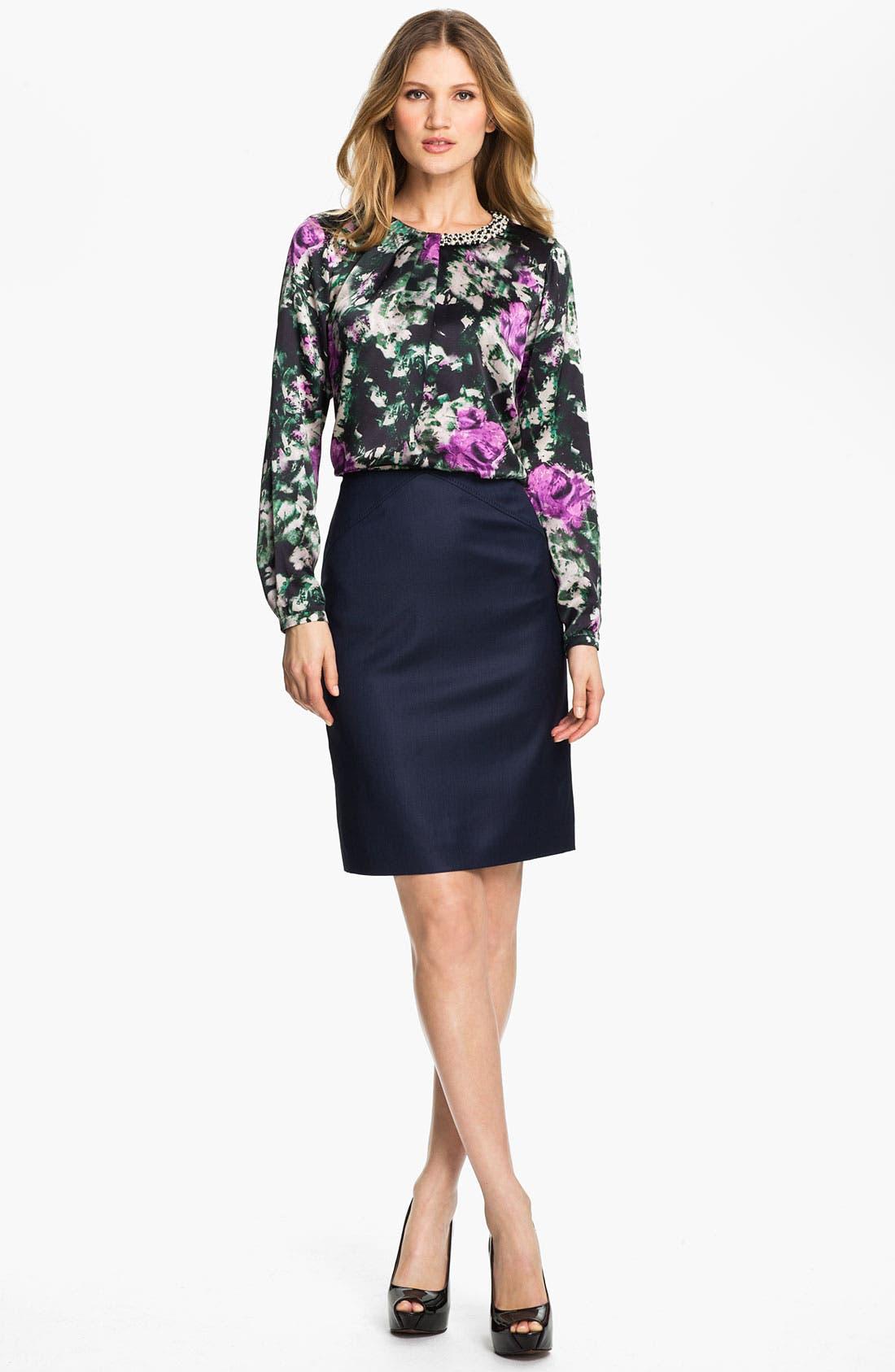 Alternate Image 4  - BOSS HUGO BOSS 'Vilinata' Skirt