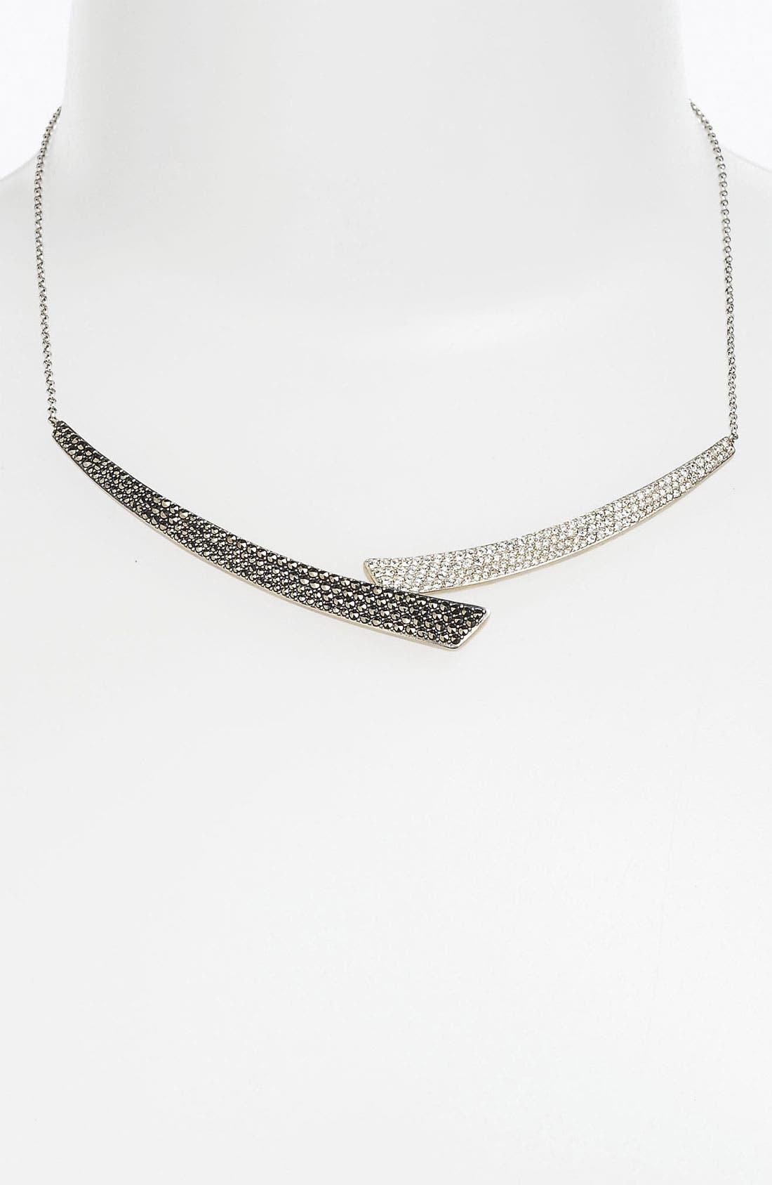 Alternate Image 1 Selected - Judith Jack 'Crystal Glitz' Collar Necklace