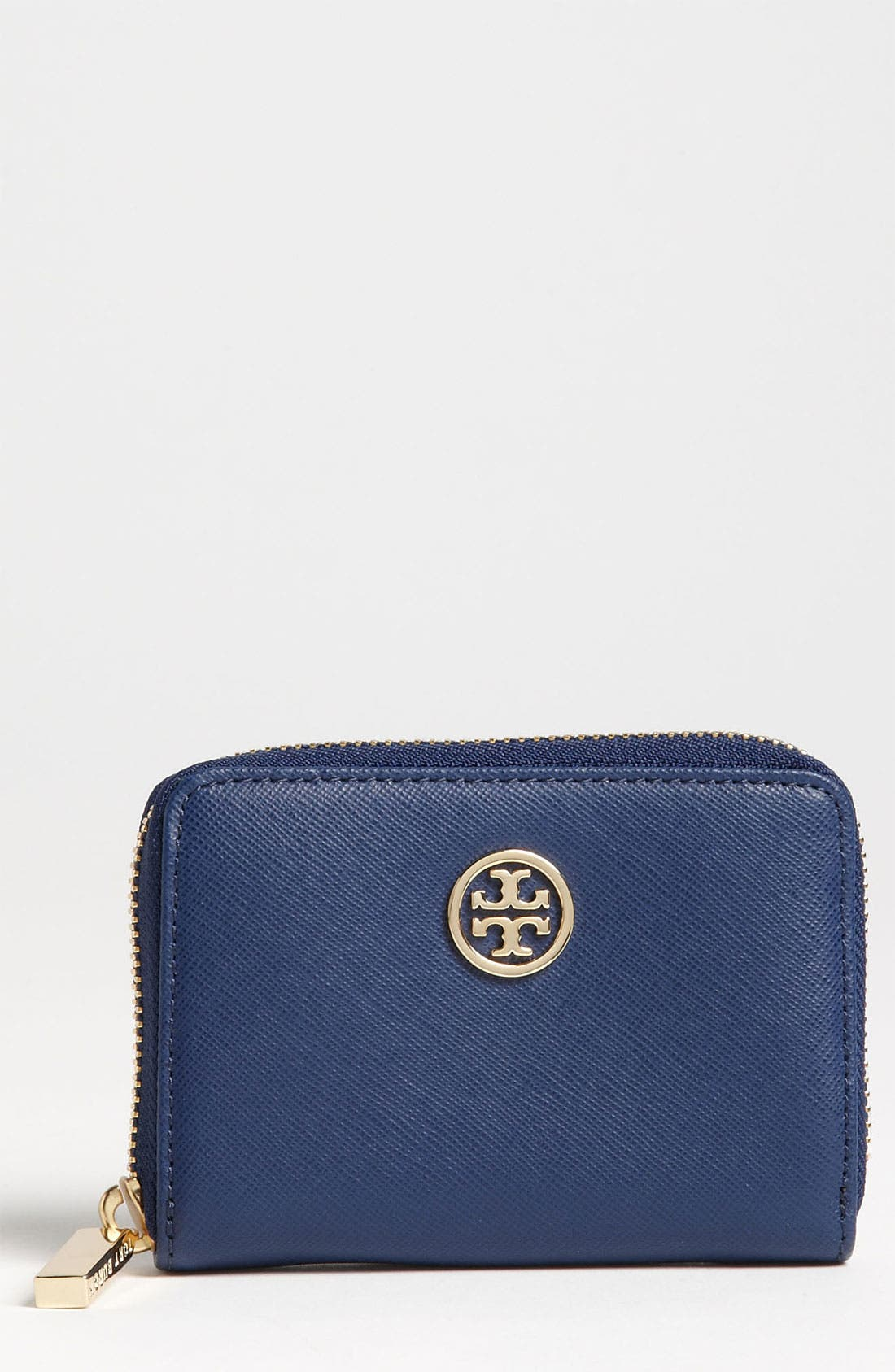 Main Image - Tory Burch 'Robinson' Zip Coin Case