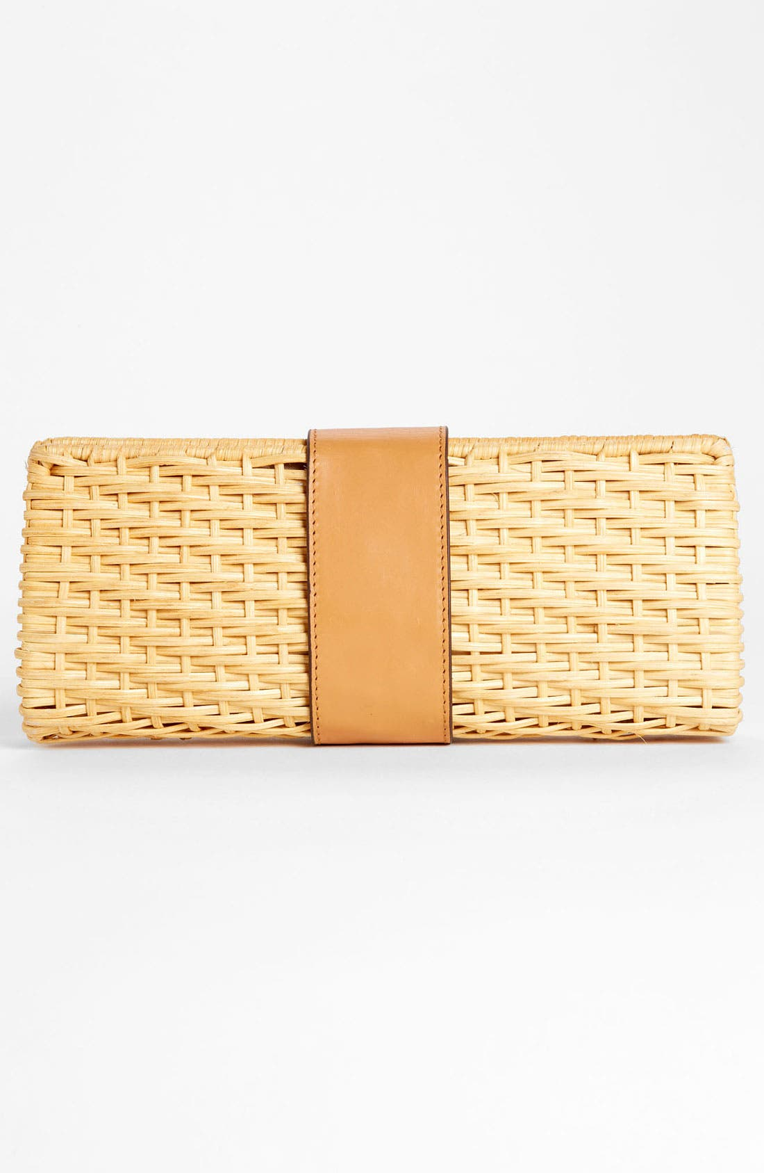 Alternate Image 4  - Tory Burch 'Lac' Rattan Clutch