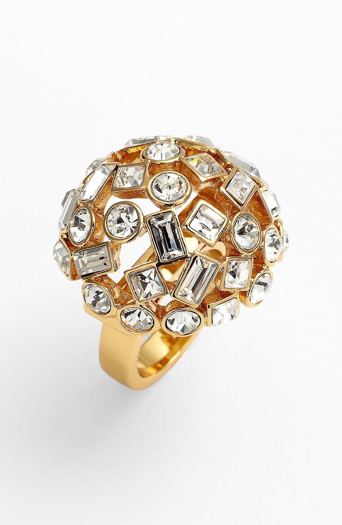 Alternate Image 1 Selected - kate spade new york 'kaleidoball' dome ring