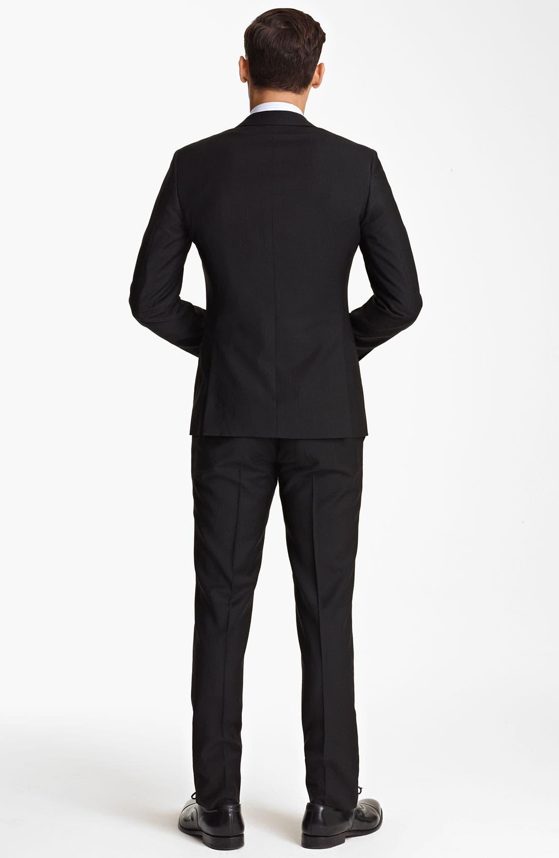 Alternate Image 4  - Dolce&Gabbana Wool Suit