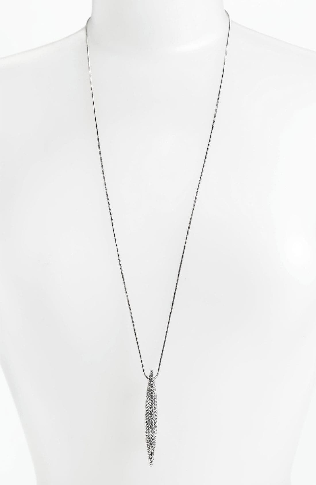 Alternate Image 1 Selected - Vince Camuto Spear Pendant Necklace