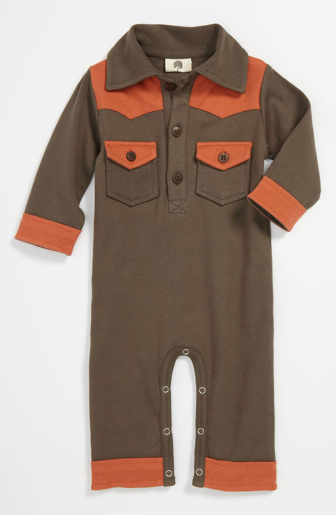 Alternate Image 1 Selected - Kate Quinn Organics Romper (Infant)