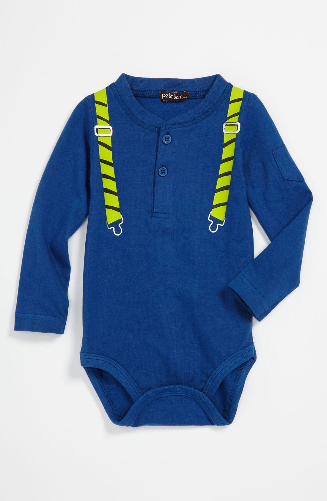 Alternate Image 1 Selected - Petit Lem Bodysuit (Infant)