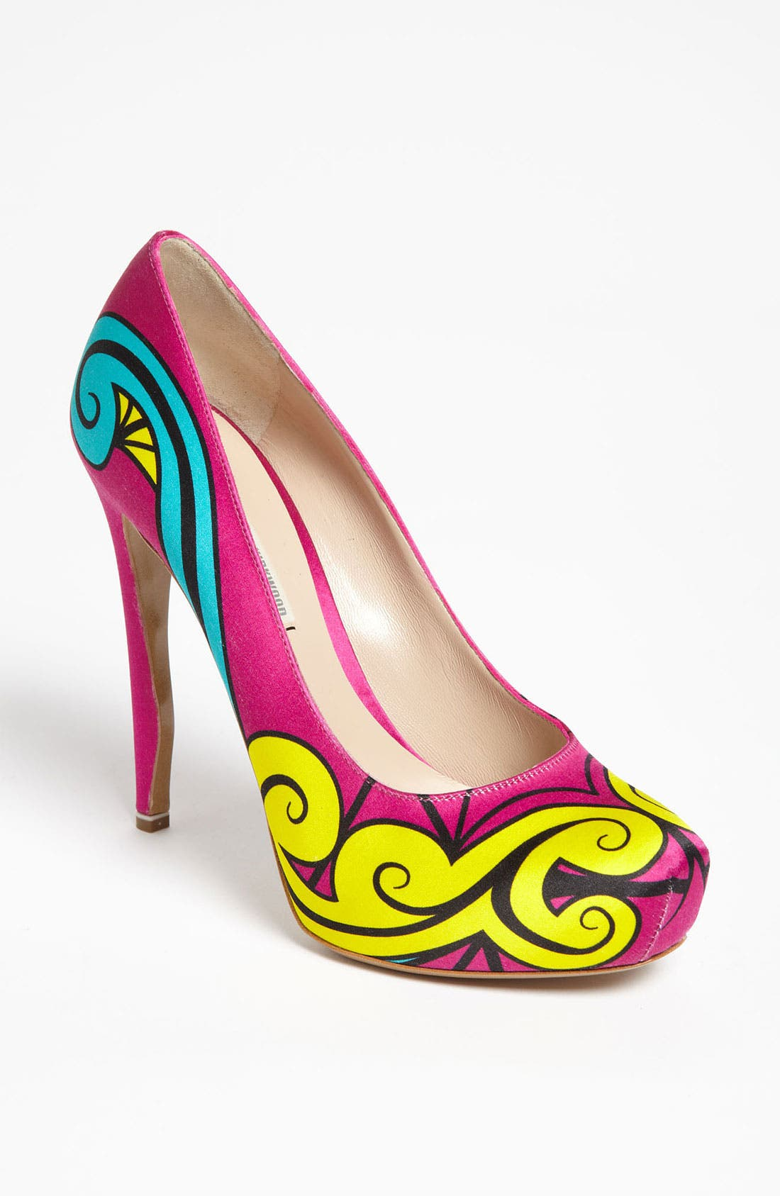 Alternate Image 1 Selected - Nicholas Kirkwood Platform Pump