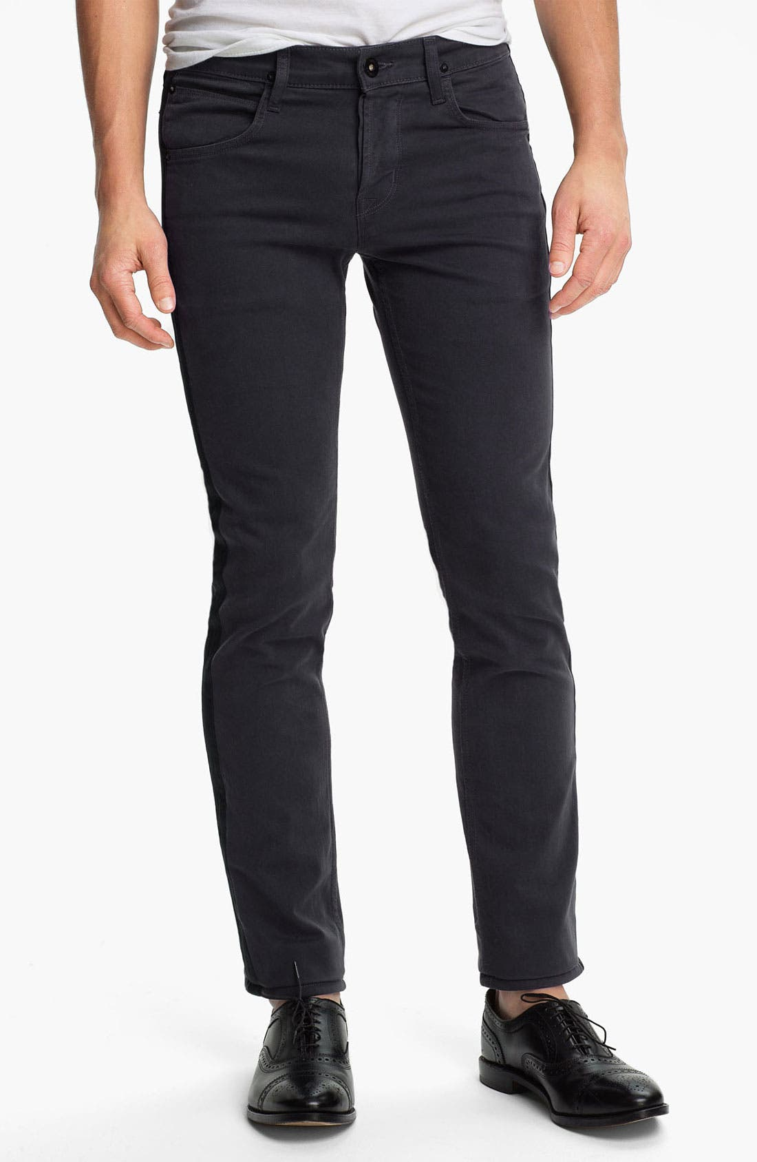 Alternate Image 2  - Hudson Jeans 'Lou Tuxedo' Slim Straight Leg Jeans (Incognito)