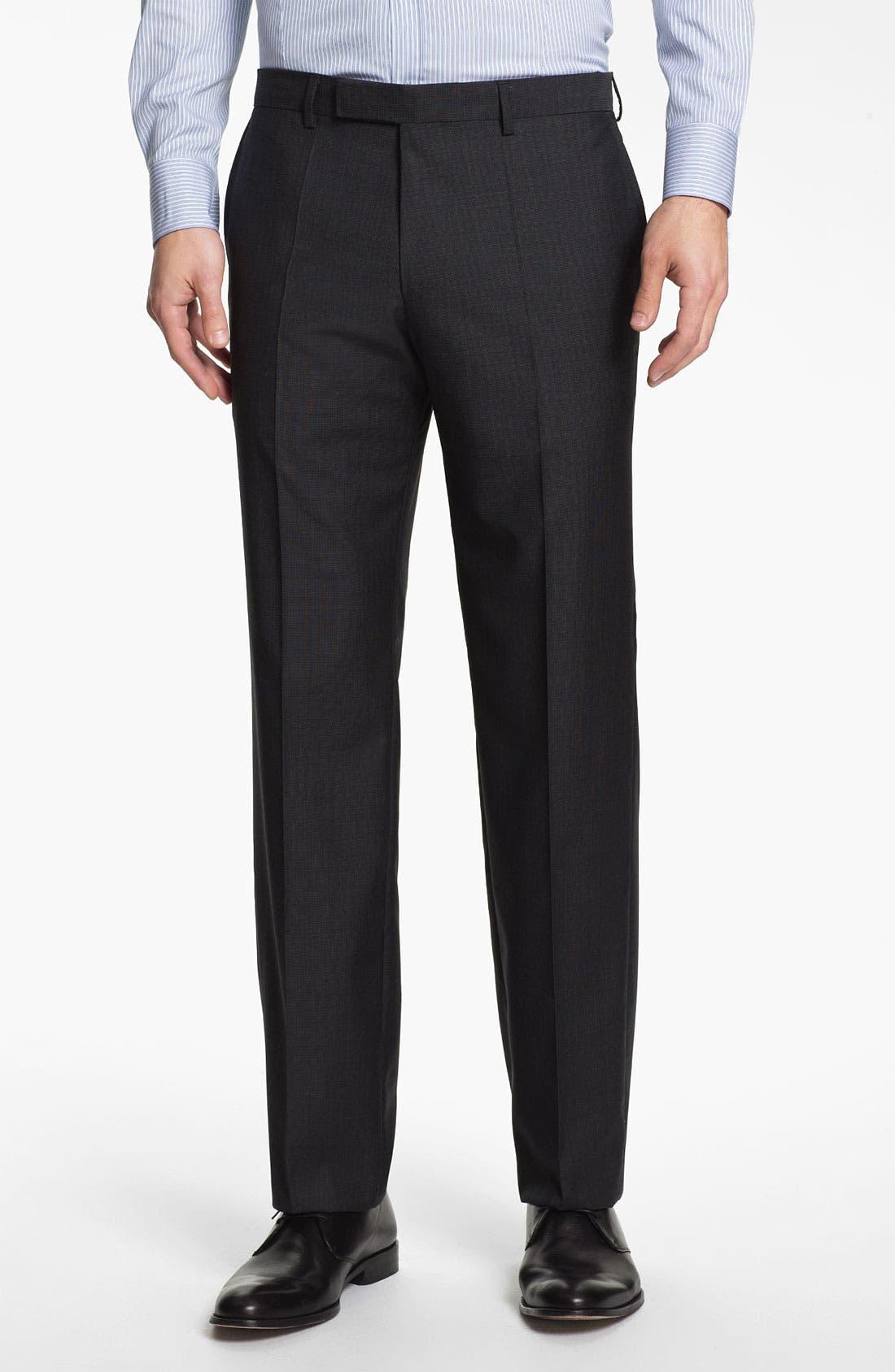 Alternate Image 4  - BOSS Black 'Edison/Power' Wool Suit