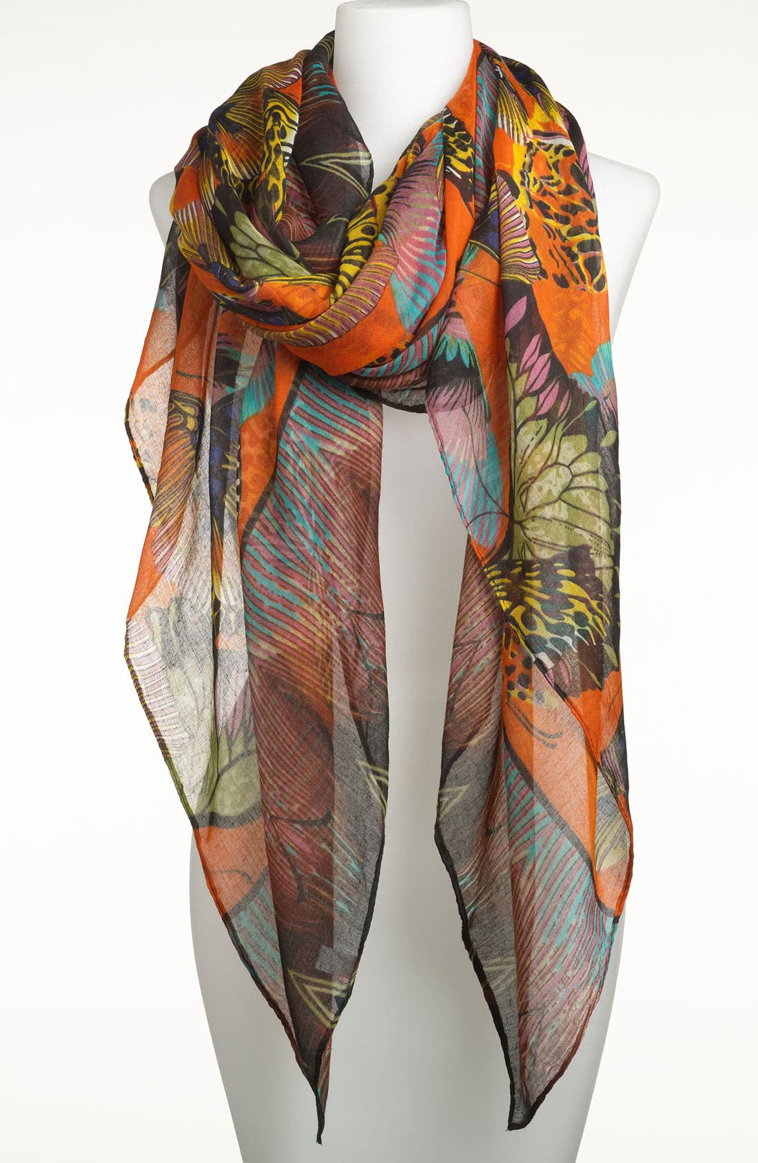 Alternate Image 1 Selected - Tasha 'Butterfly Madness' Scarf