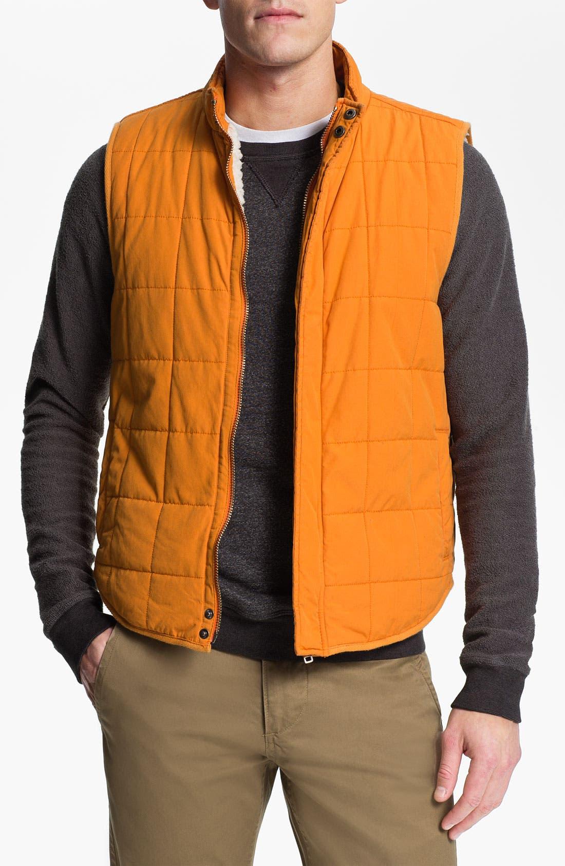 Alternate Image 1 Selected - Splendid Mills 'Wilson' Quilted Cotton Vest