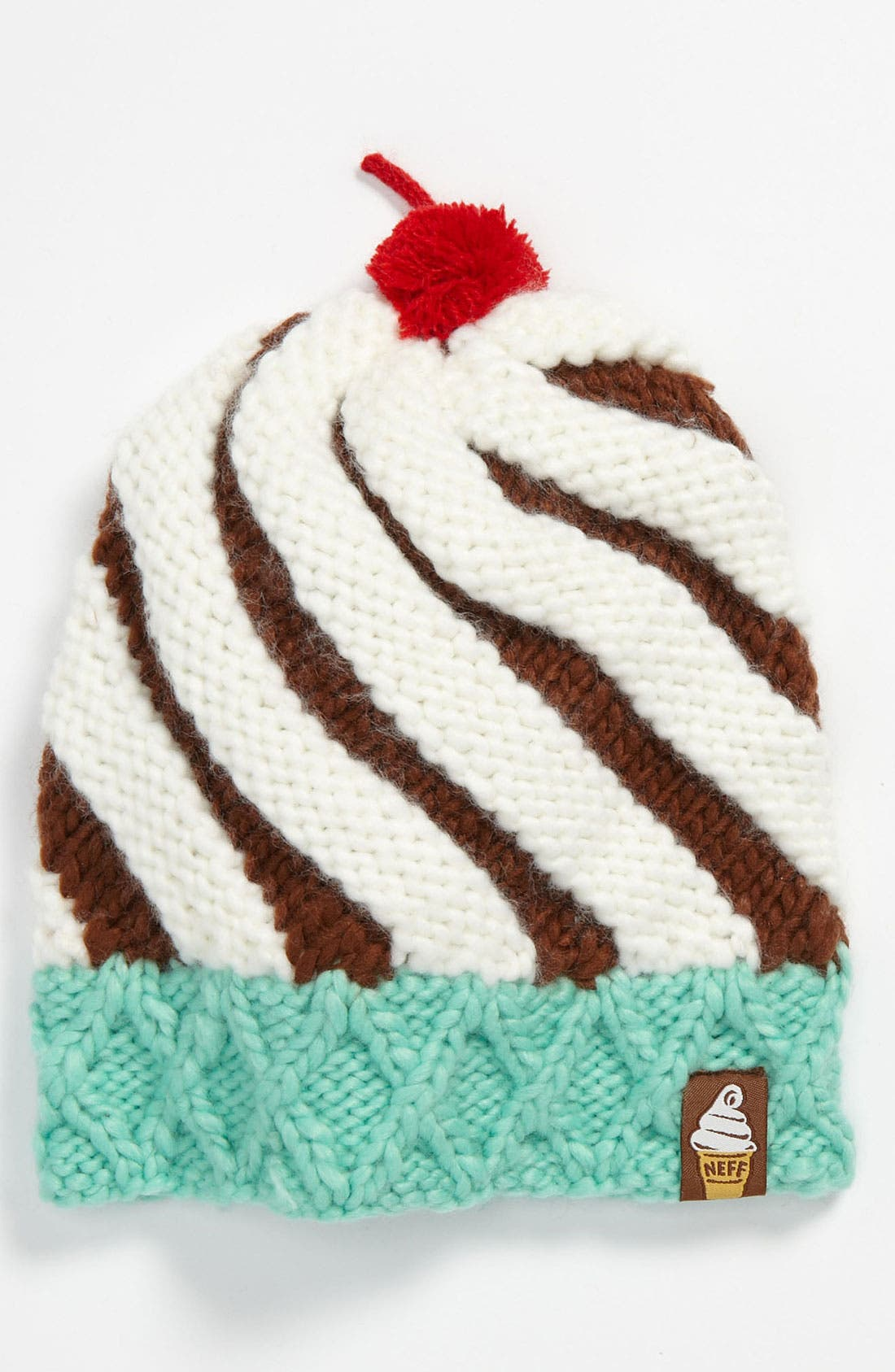 Alternate Image 1 Selected - Neff 'Cone' Beanie (Girls)