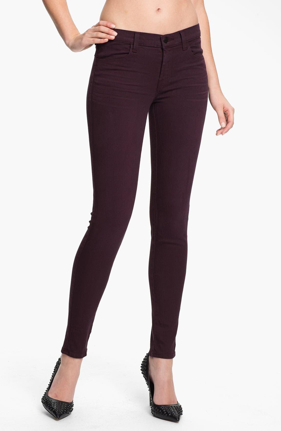 Main Image - J Brand Super Skinny Stretch Jeans