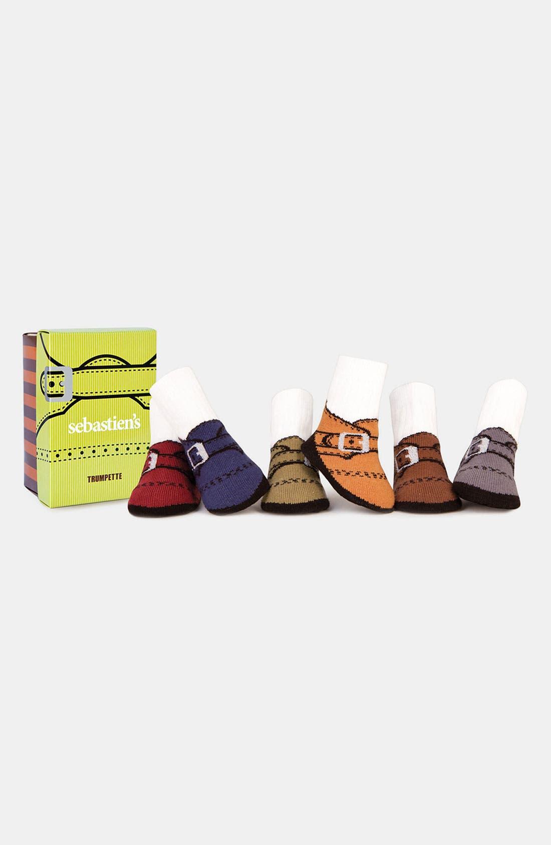 Main Image - Trumpette 'Sebastien's' Socks (6-Pack) (Infant)