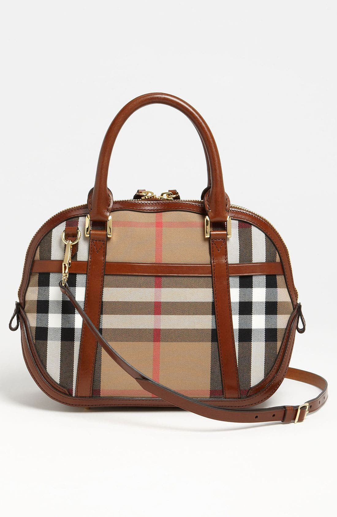 Alternate Image 4  - Burberry 'House Check' Crossbody Satchel