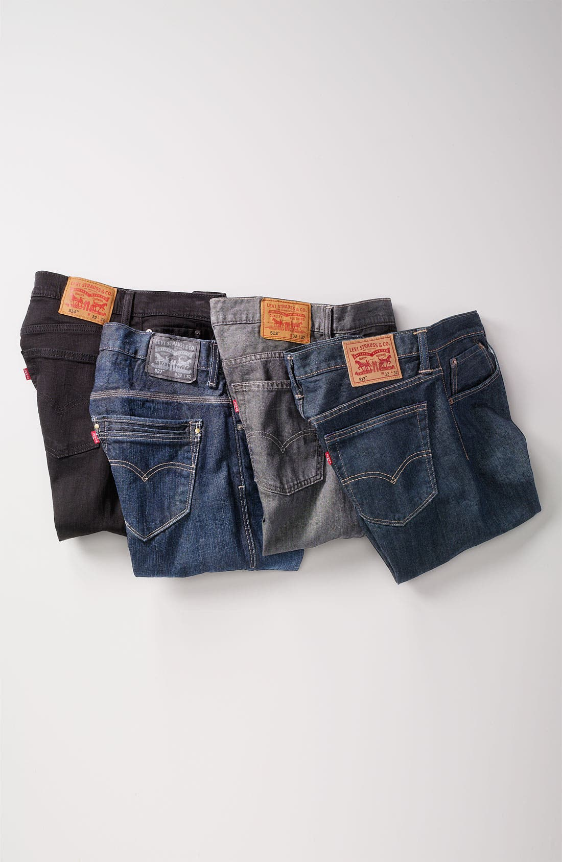 Alternate Image 6  - Levi's® '513™' Slim Fit Jeans (Moulded Slate)