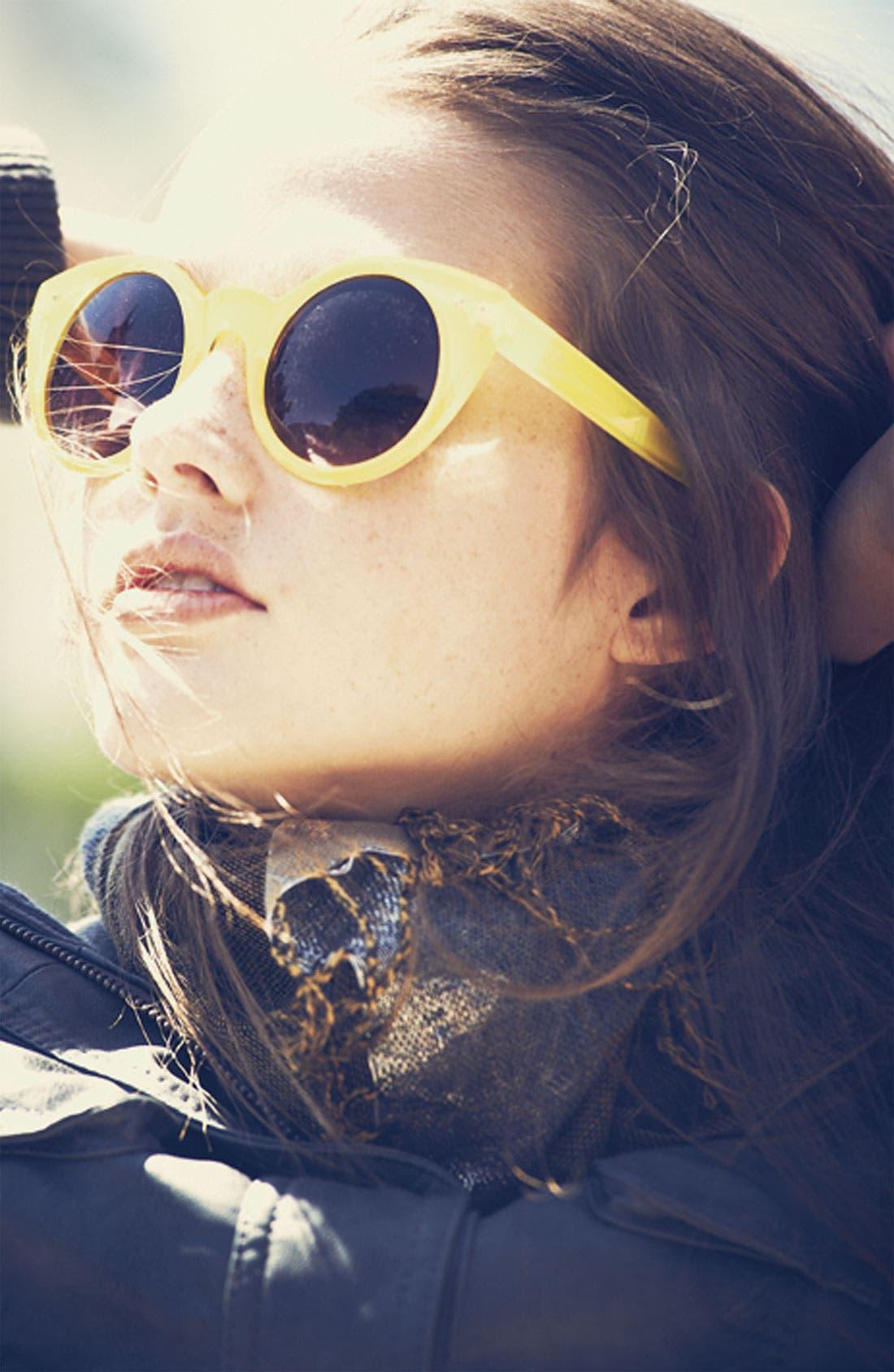 Alternate Image 3  - Quay Retro Sunglasses