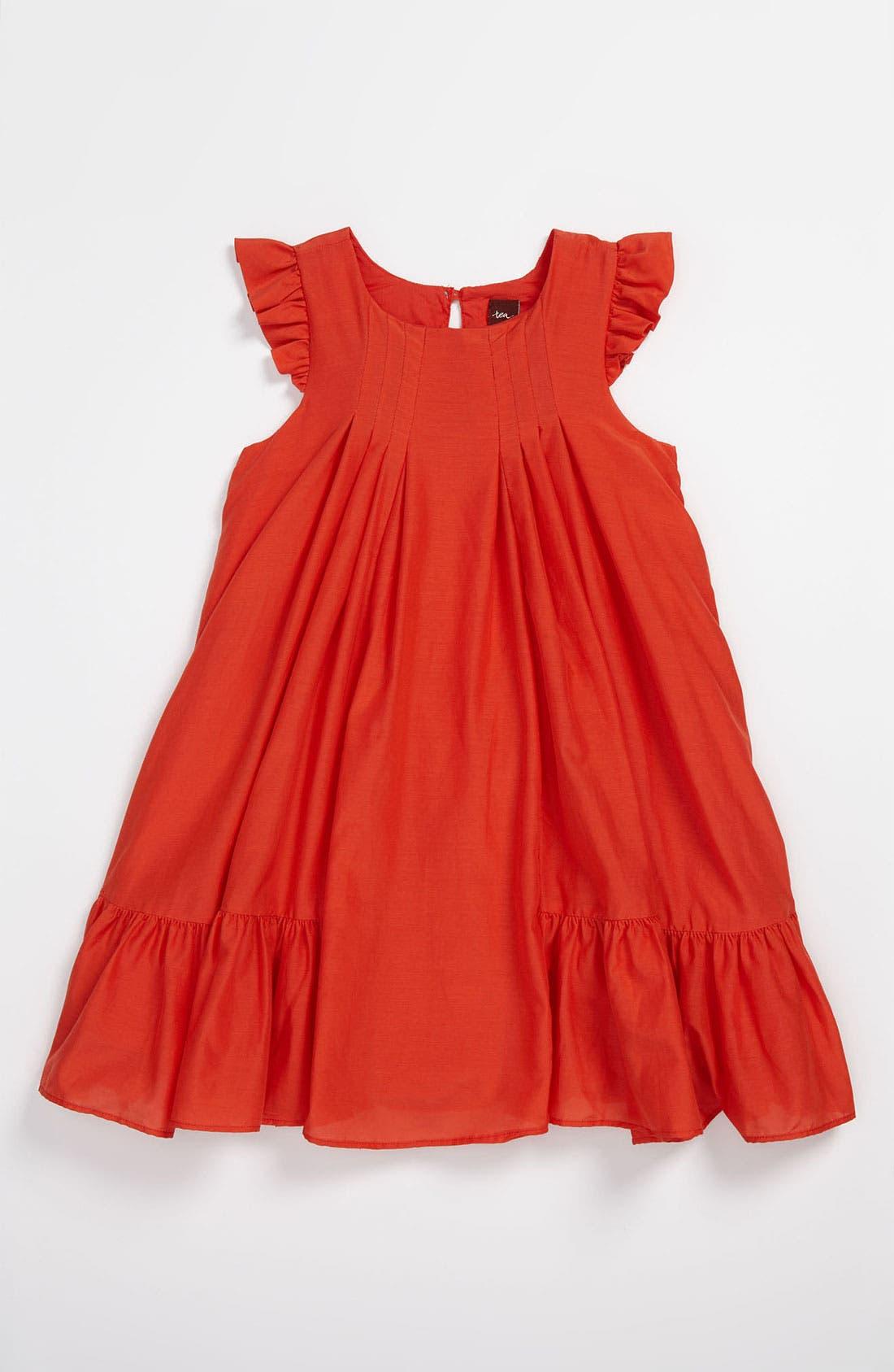 Main Image - Tea Collection Party Dress (Little Girls & Big Girls)