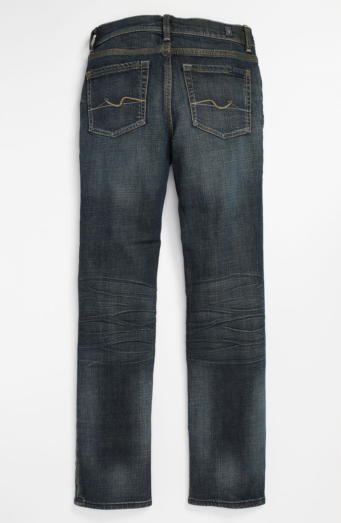 Main Image - 7 For All Mankind® 'Rhigby' Skinny Straight Leg Jeans (Big Boys)