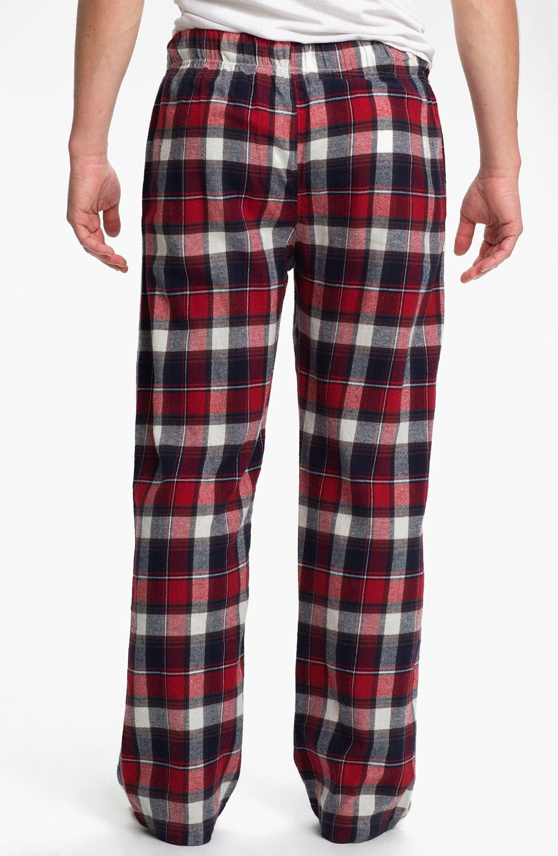 Alternate Image 2  - Topman 'Pluto' Cotton Flannel Pajama Pants