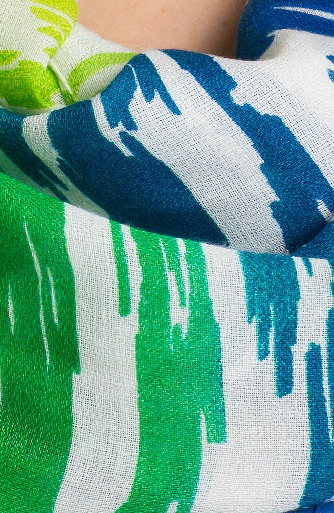 Alternate Image 2  - Echo Ombré Ikat Stripe Infinity Scarf